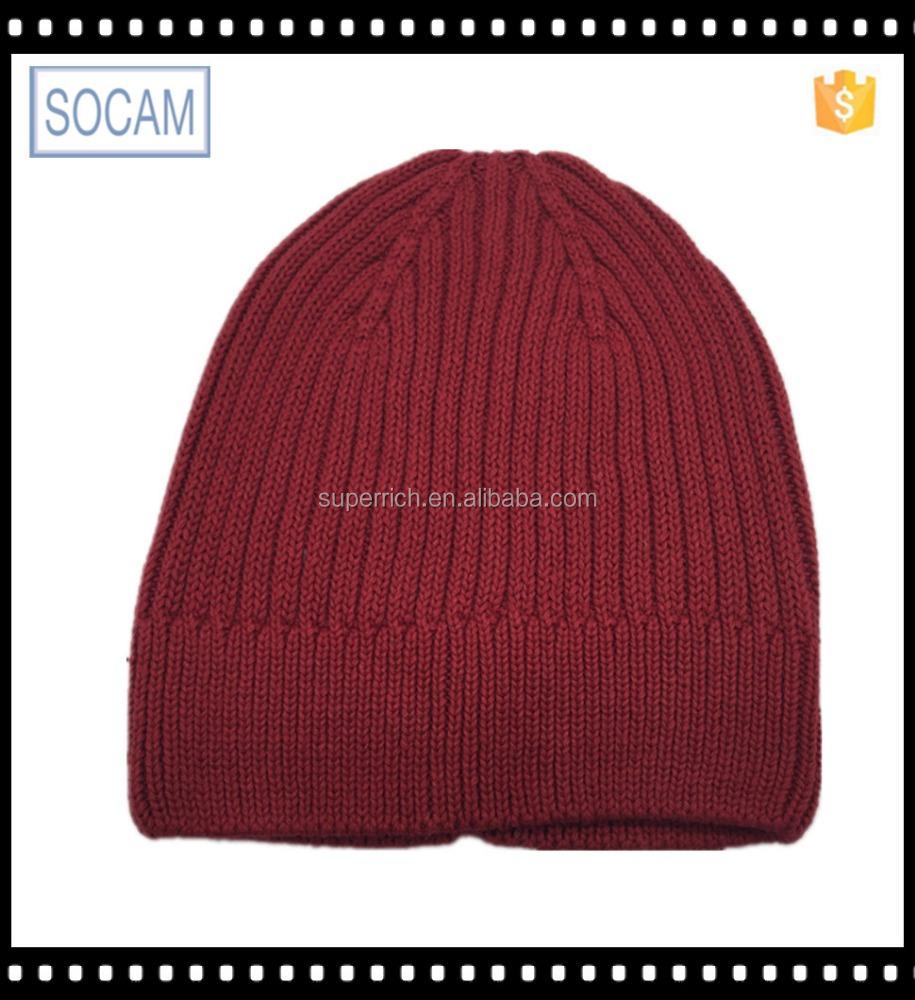 Baggy Beanie Hat Crochet Pattern : Crochet Adult Baggy Winter Beanie Knitted Hat Patterns ...