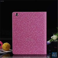 Top selling products in Alibaba Diamond Pattern slim Smart tablet covers for iPad air leather case