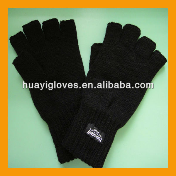 Hot Deal Winter Acrylic Fingerless Gloves, Xmas Gifts