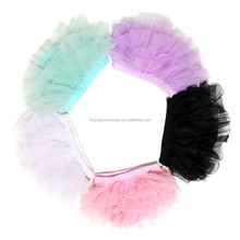 Baby Girls Sequin Tutu Shorts Chiffon Ruffle Bloomers