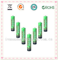 1.5v aa zinc carbon dry battery