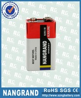 Professional battery 9v 6lr61 with low price