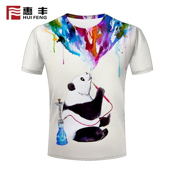 wholesale custom 100% polyester t shirt full printing sublimation