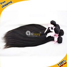 Aliluxy hair Top quality 7a grade unprocessed human remy straight 100 virgin indian hair