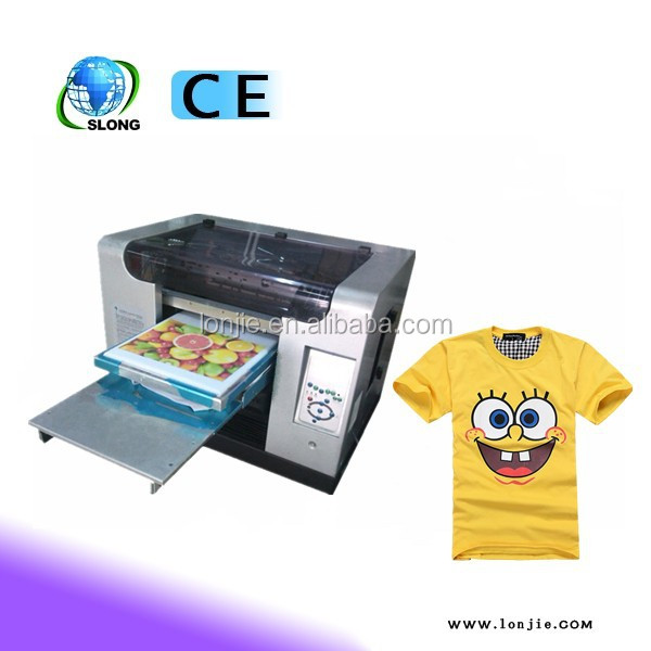 Clothes Logo Design Direct Print On T Shirt Surface