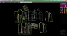 Intelligent CAD program 3D textile&fashion garment CAD/CAM software 2d 3d cad software design