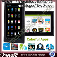 RK3066 dual core tablet 7 inch tablet android 4.1 2gb ram