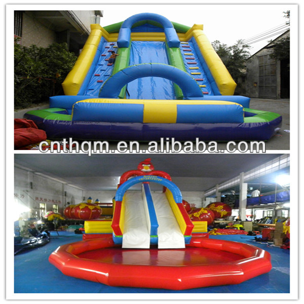 Giant inflatable water slides wholesale
