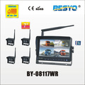 "7"" wireless digital monitor & 4PC wireless camera DVR recorder BY-08117WR"