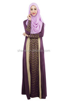 high quality high end muslim gown fashion baju muslim abayas
