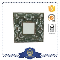 shabby chic 19 inch digital metal photo frame