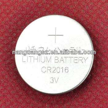 3V lithium battery CR2016