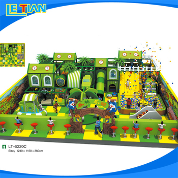 Supply all kinds of indoor playground play naughty palace for children play