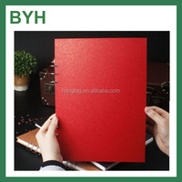 Simple Chinese Red design sketch book/drawing book