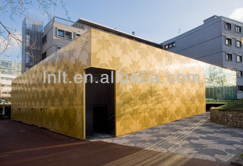 Perforated Metal Aluminum Exterior Wall Panel Wall