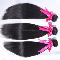 New Products 6A High Quality 100% Virgin Human Hair Extension No Shedding Peruvian Light Yaki Straight