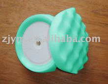 "6"" waved hollow polishing foam pad"