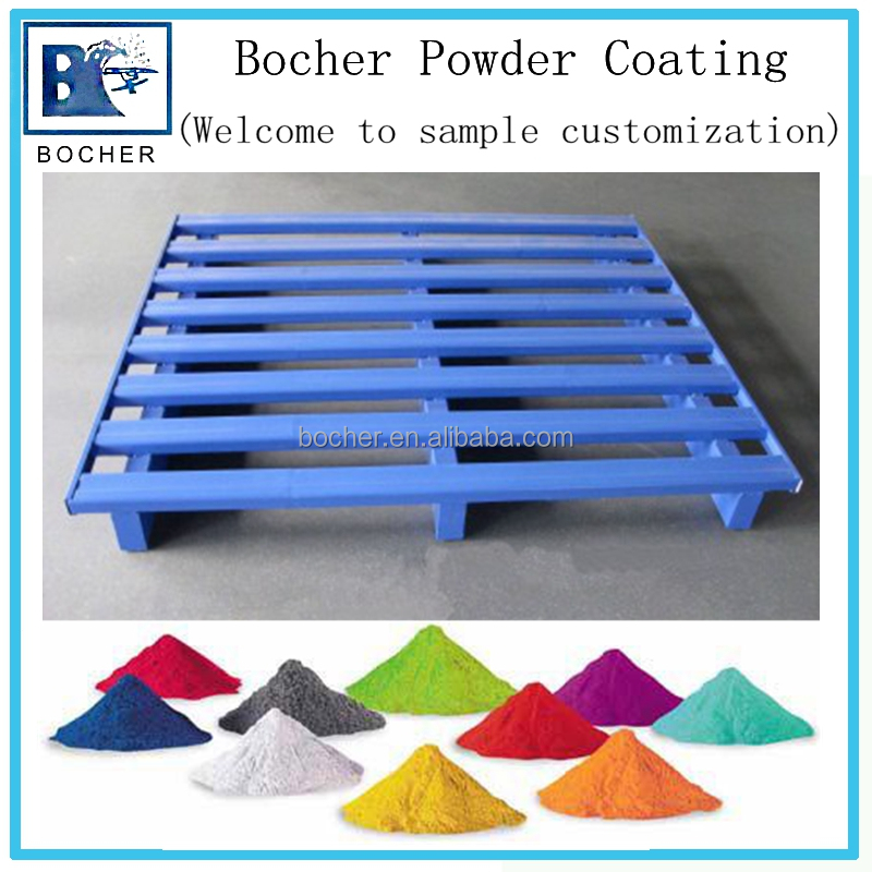 Powder coating for metal pallet spray colorful rust protection paint