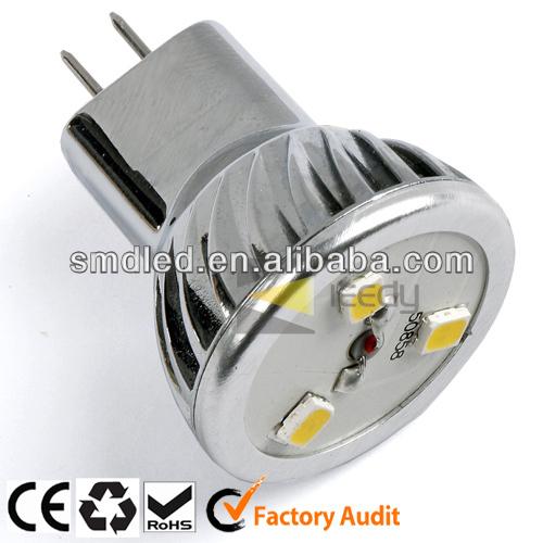 mini aluminum g4 mr8 led spot light