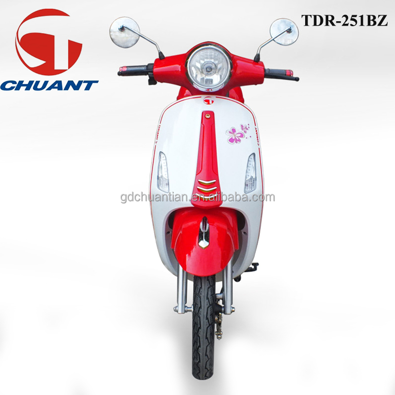 China made chuant Lady Use Electric Mini Motorcycle with pedal TDR251BZ