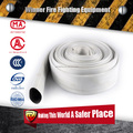 White Single Jacket EPDM Lining Fire Hose