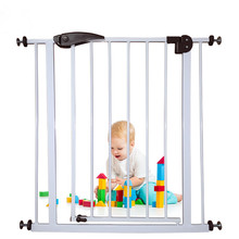 Baby Safety Gate Door Easy Step Walk Thru Gate for Stairs Door Children Toddler Pet Protective Fence infant safety gate