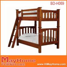 Hot sale solid wood heavy duty American bunk bed