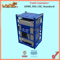 ASME standard offshore IBC tank container with DNV 2.7-1 standard