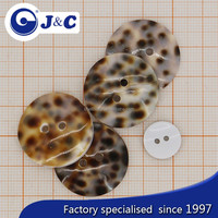 2015 fashion OEM Tiger Cowrie shell button