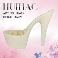 shoes material abs plastic high heels for dress shoes made