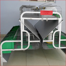 24 position mother and baby rabbit cage for rabbit farming house