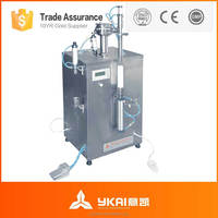 Silica gel, adhesive, silicone sealant filling and press capping machine