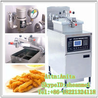 Fast food mcDonald/Chicken processing equipment /chicken pressure fryer machine