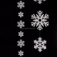 large supply cheap Christmas felt snowflake home decoration