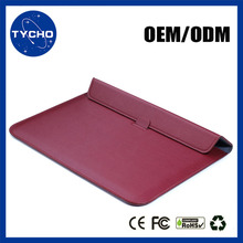 Laptop Computer Bag Case For New Macbook PU Leather Sleeve For Macbook Retina Leather Notebook Case