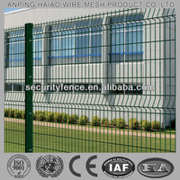 pvc coated welded decorative wire fence