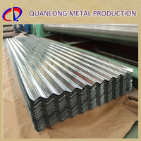 Long Span GI Galvanized Corrugated Types Of Roof Tiles
