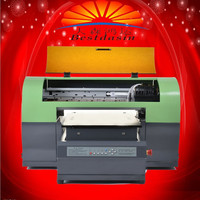 Multi purpose small led uv printer for printing everything A4 uv smart size office usage best selling venture business