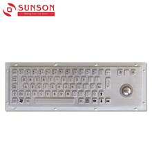 SUNSON SPC330AG Kiosk Metal Keyboard with Trackball