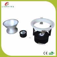 Dimmable Recessed COB LED Downlight Fittings