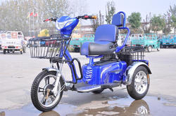 3 wheel single seat electric tricycles with tricycle cargo box