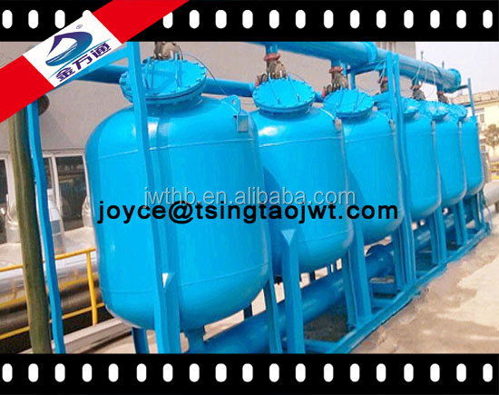 Superior carbon filtering system for waste water treatment