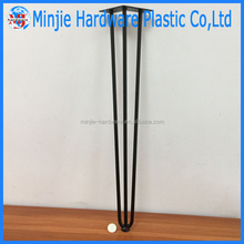 manufacturer cheap price steel metal hairpin wood table legs protector