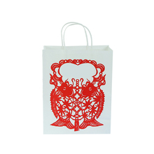 Excellent quality low price supply custom branded paper bag