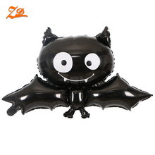 wholesale custom halloween bat foil balloon