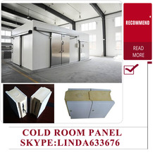 PU Insulation Storage Cold Room / Solar Power Freezer Room