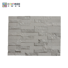 Professional Supplier High Quality Natural Grey Slate Decorative Brick Walls