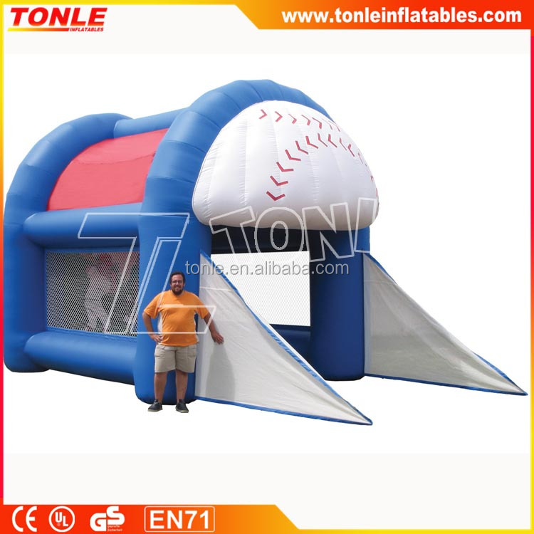 Sports Cages - Inflatable baseball Batting Cage