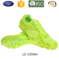 men sprint spike running sport shoes professional athetic shoes track filed