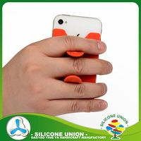 Anniversary silicone cell phone holder for desk